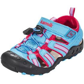 Kamik Crab Sandals Children pink/blue